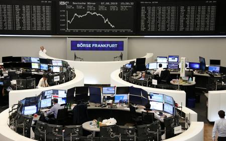 Europe rattled by Italy stress, safe havens keep gaining