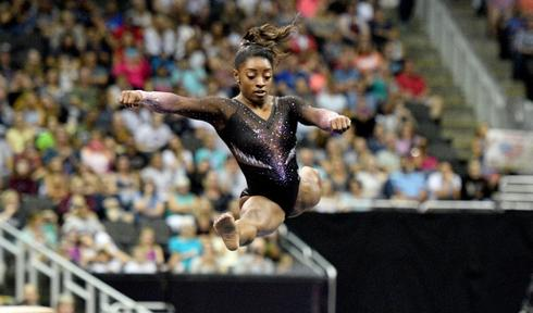 Gymnastics: Biles soars to sixth title at national championships