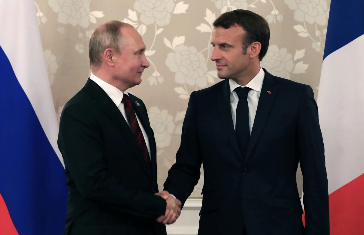 Putin to visit Macron in France this month to discuss Ukraine: Kremlin