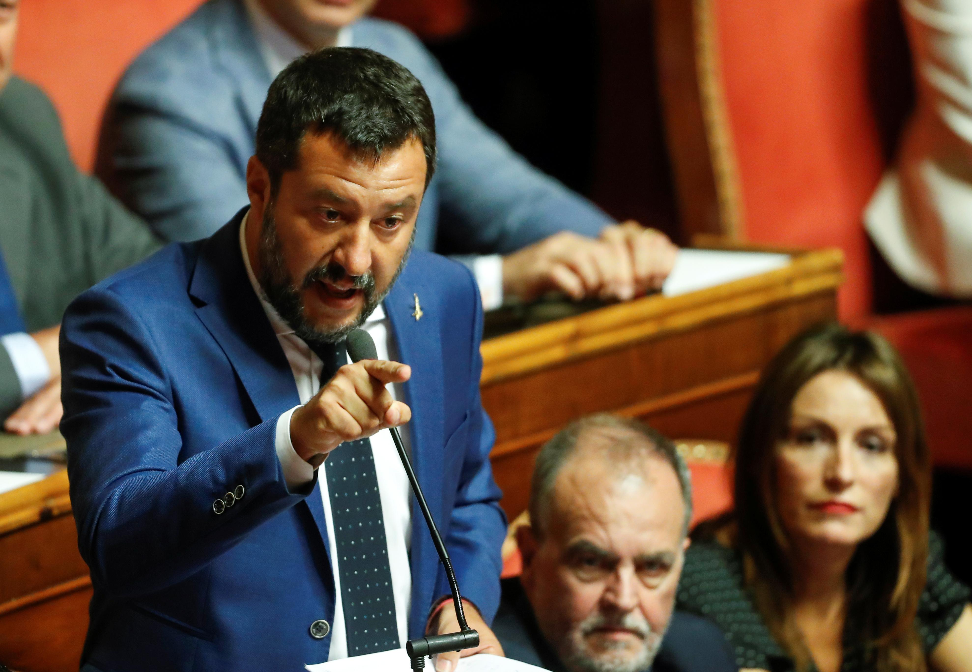 In new migrant standoff, Italy's Salvini blocks two NGO boats