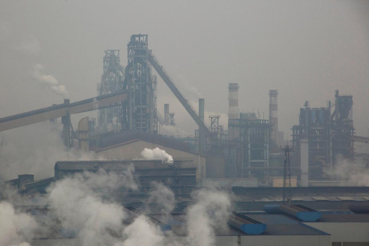 China's July steel output eases on environmental curbs, shrinking...