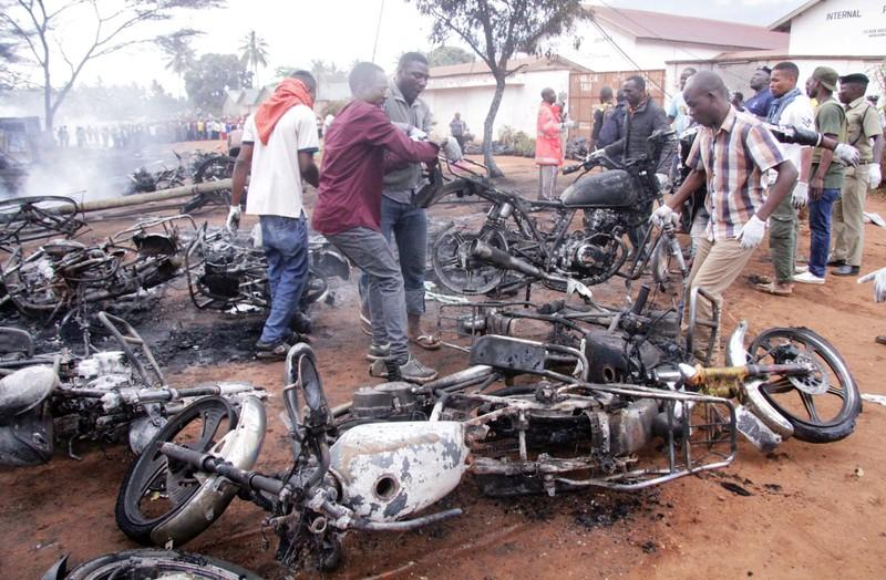 Death toll from Tanzania fuel tanker blast climbs to 85, official says