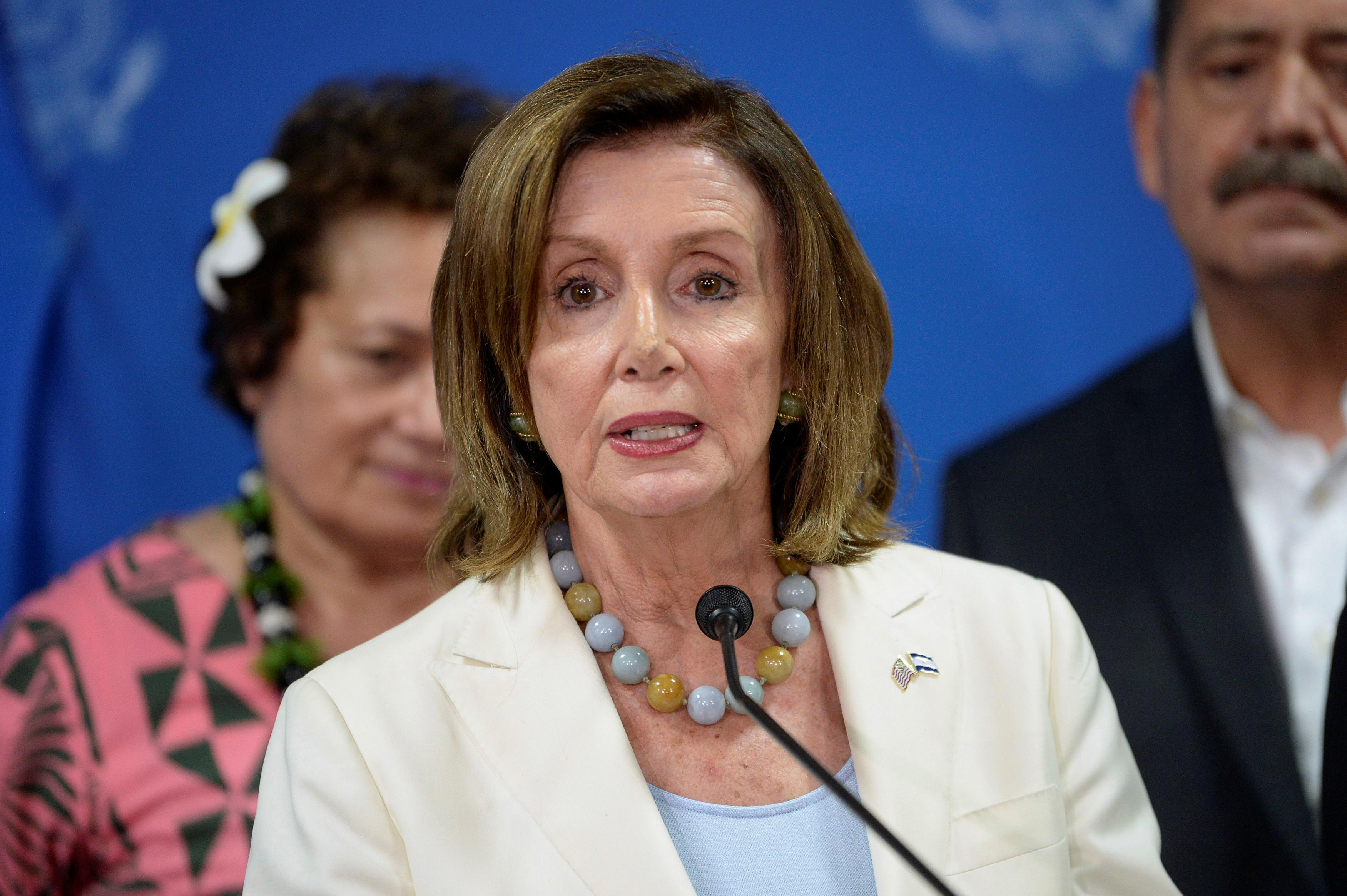 U.S. House Speaker Pelosi urges Israel to reverse decision to block lawmakers' visit