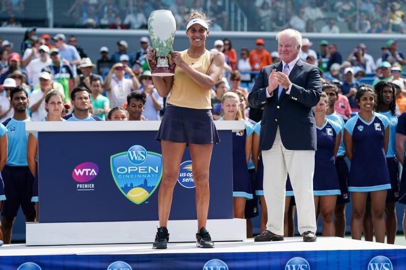 Keys claims Cincinnati title over Kuznetsova