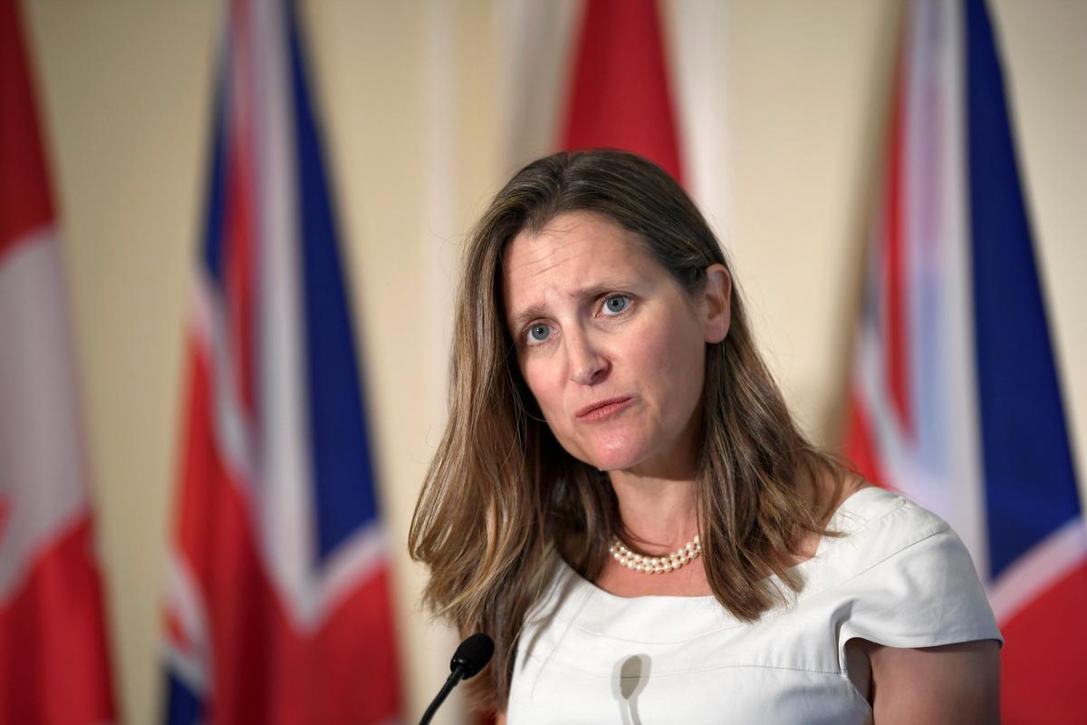 Chinese ambassade sê vir Kanada om op te hou om in Hongkong-aangeleenthede te meng
