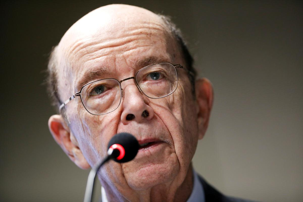 U.S. Commerce Secretary Ross downplays fears of recession