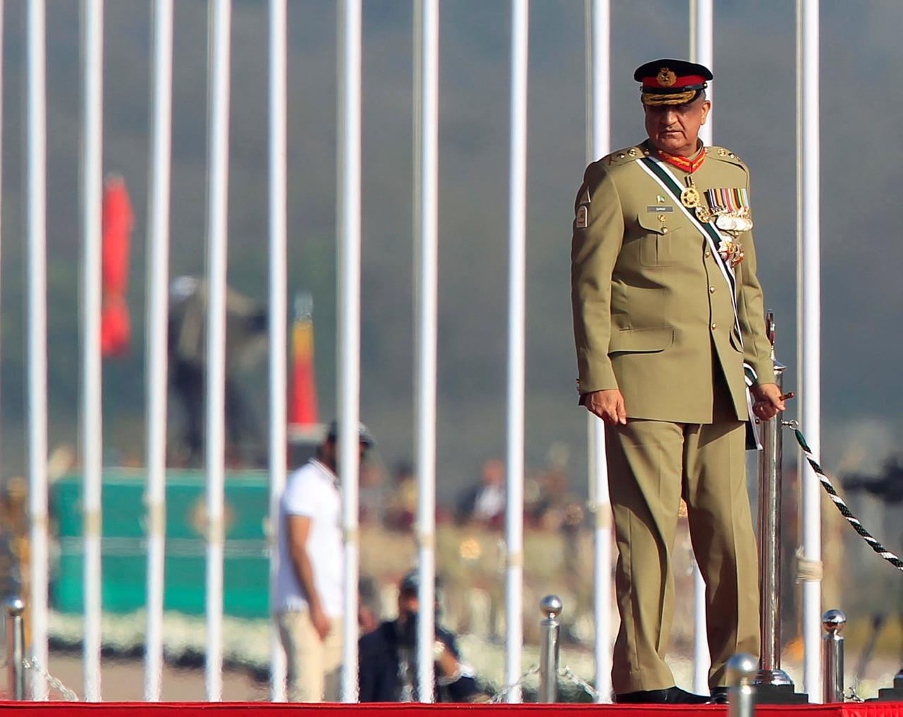 Image result for extension of general bajwa