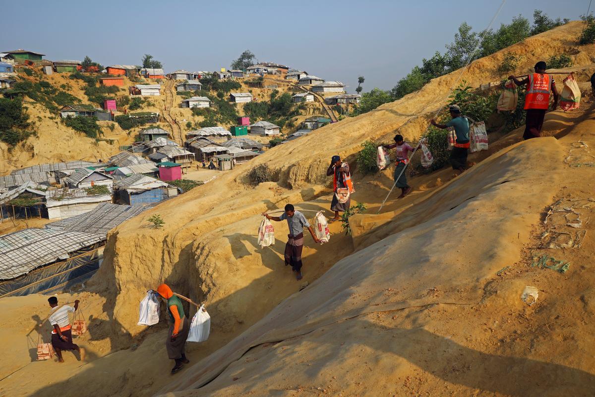 Bangladesh, UNHCR, ondersoek Rohingya oor die terugkeer na Myanmar