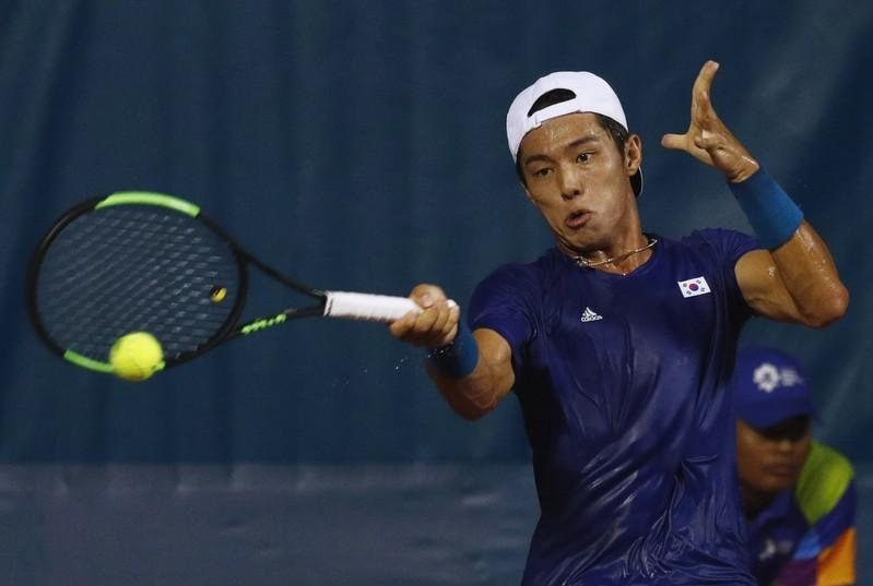Lee becomes first deaf player to win an ATP main draw match