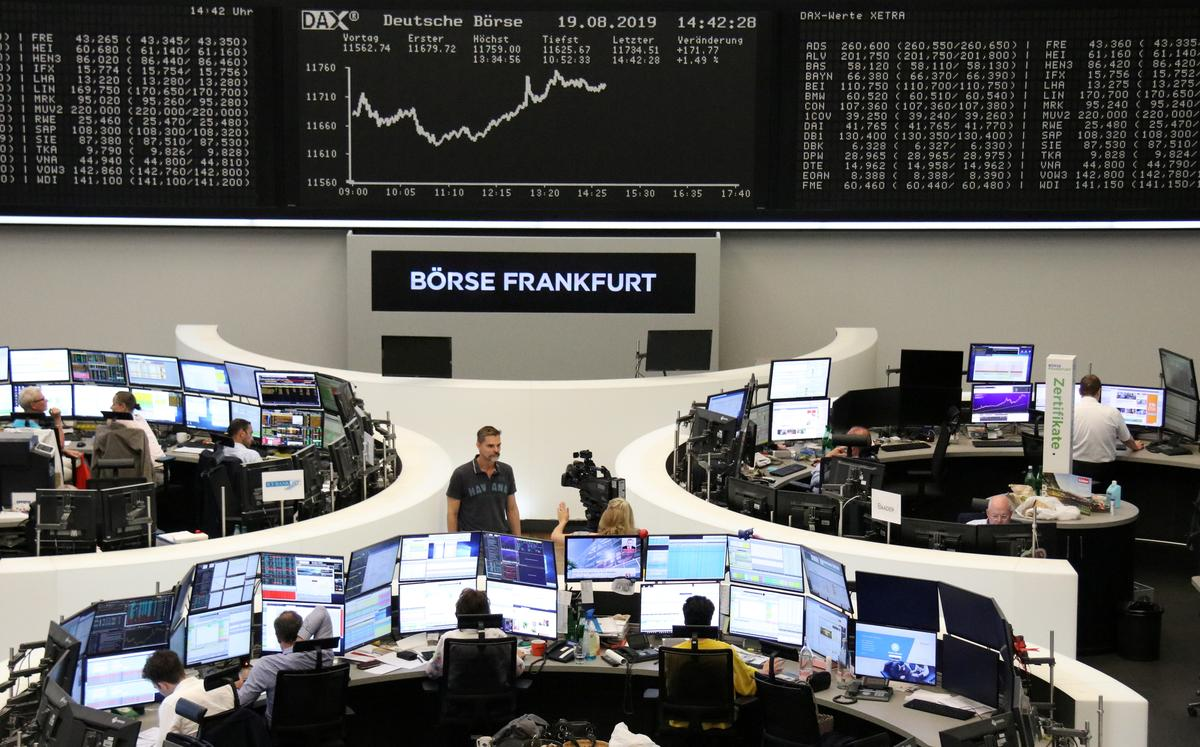 Global shares inch higher as stimulus hopes spur rebound