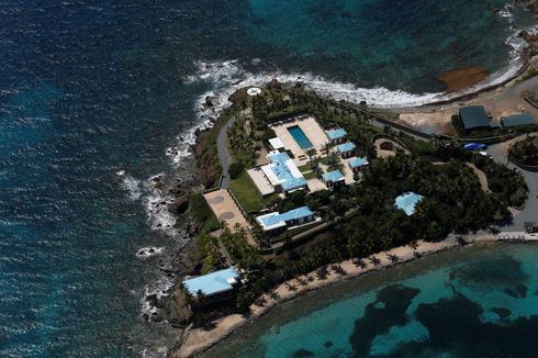 Jeffrey Epstein's private Caribbean island