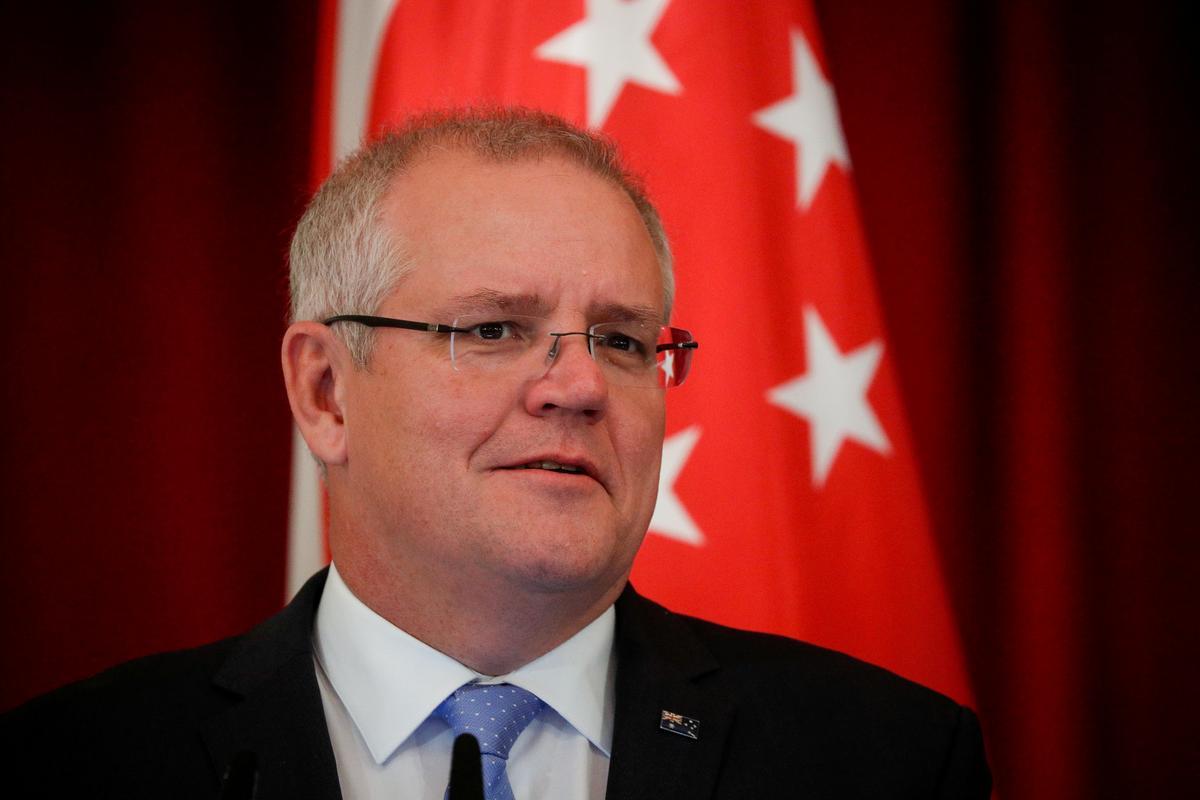 Australië sê dat hy sal aansluit by die Amerikaanse verdedigingspoging in Straat van Hormuz