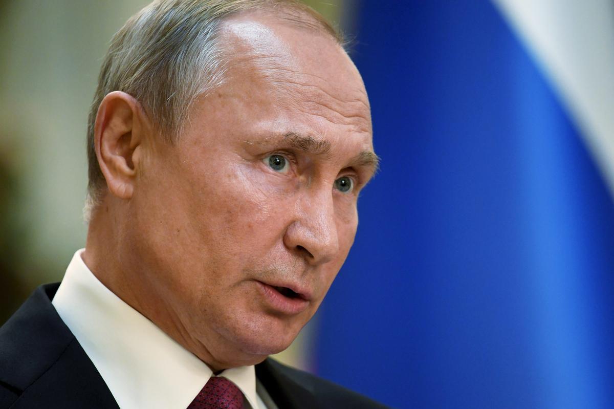 Poetin sê dodelike militêre ontploffing het tydens die toets van die wapenstelsel plaasgevind