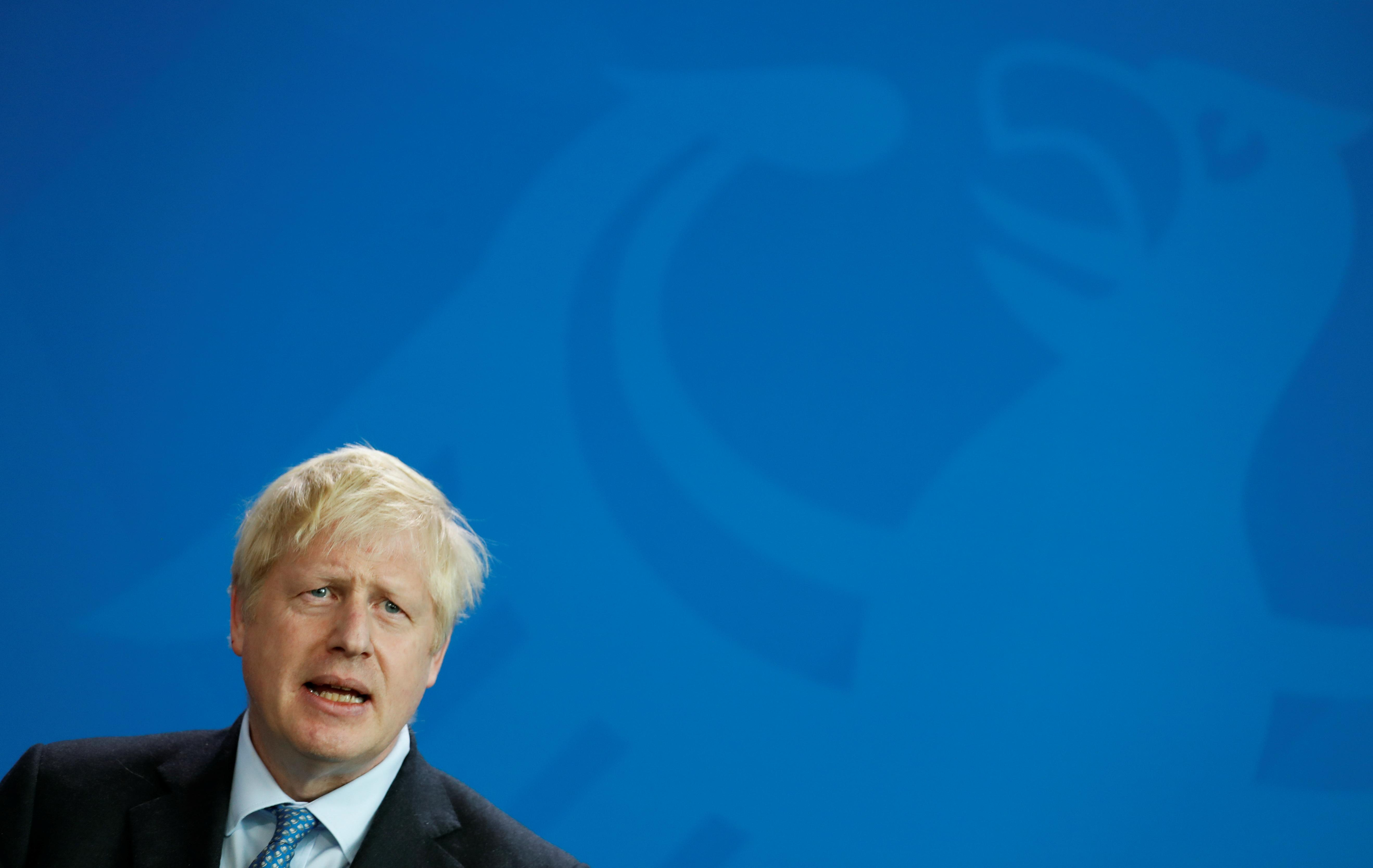 UK's Johnson says case yet to be made for Russia to rejoin G7