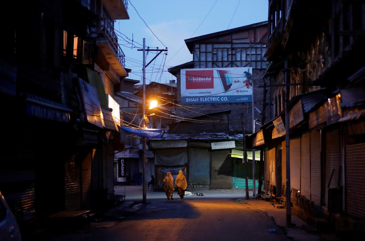 Kashmir-separatiste wat vasgevang is, dring daarop aan om openbare optogte oor die verlies van outonomie te bevorder