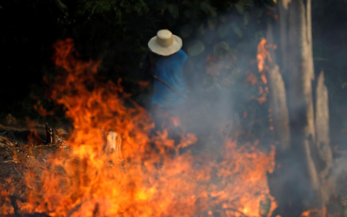 Igniting global outrage, Brazil's Bolsonaro baselessly blames NGOs for Amazon fires