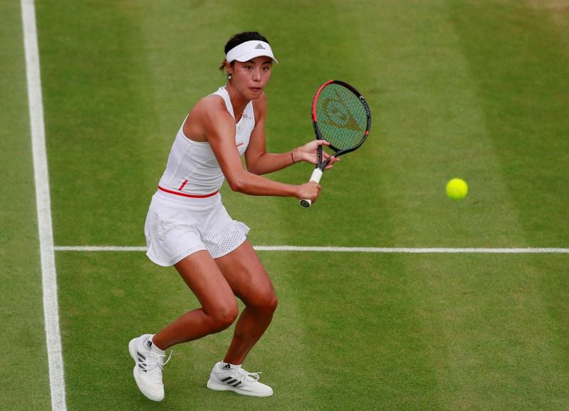 Top seed Wang eases into Bronx Open quarter-finals