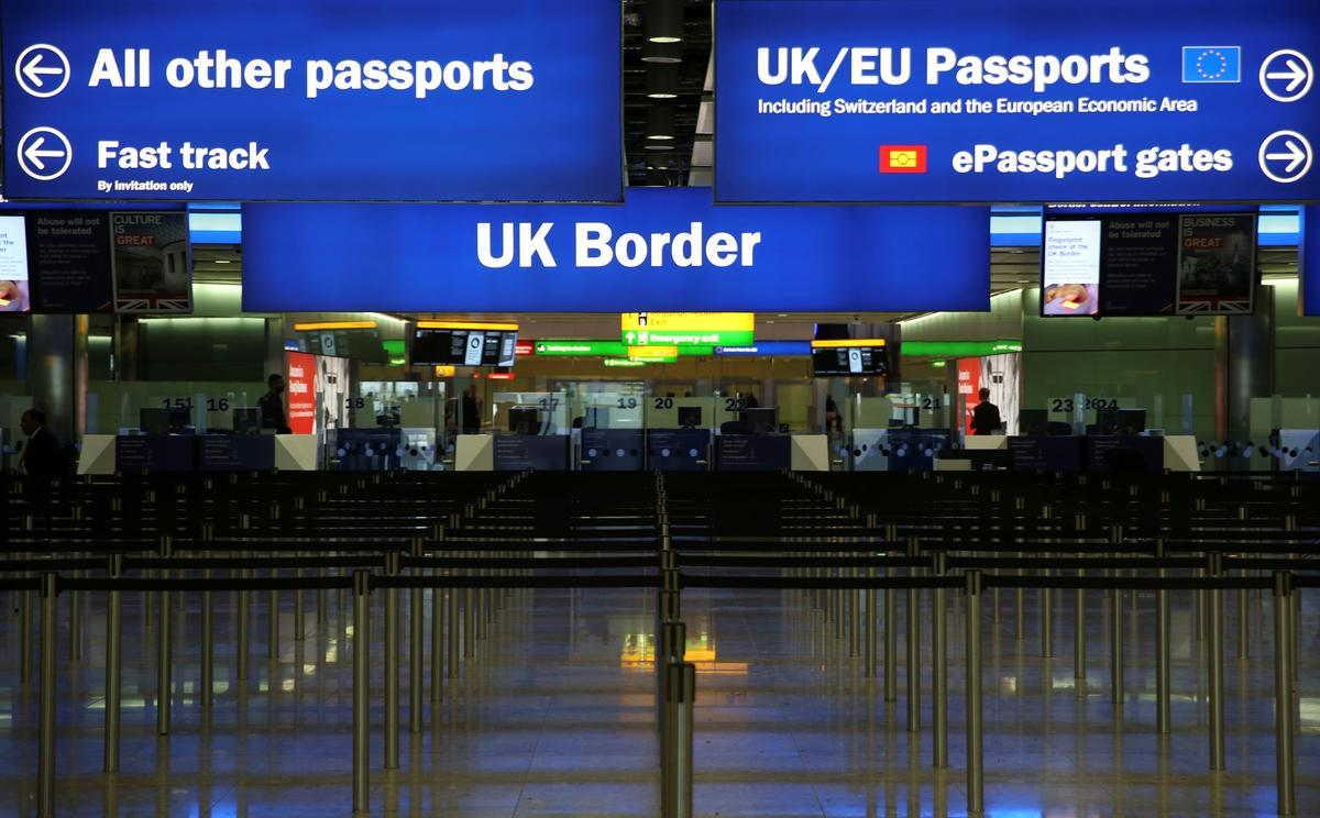 Immigrasie na Brittanje daal tot vyf jaar laag voor Brexit: ONS