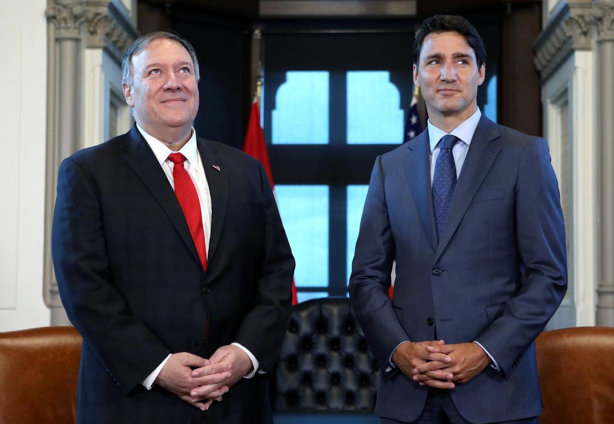 Pompeo sê Amerikaanse amptenare fokus op die vrylating van twee Kanadese in China