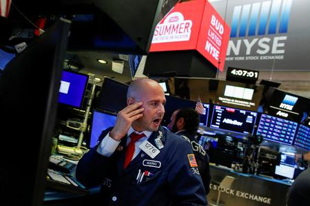 Stocks weak as investors eye Fed's Jackson Hole meeting