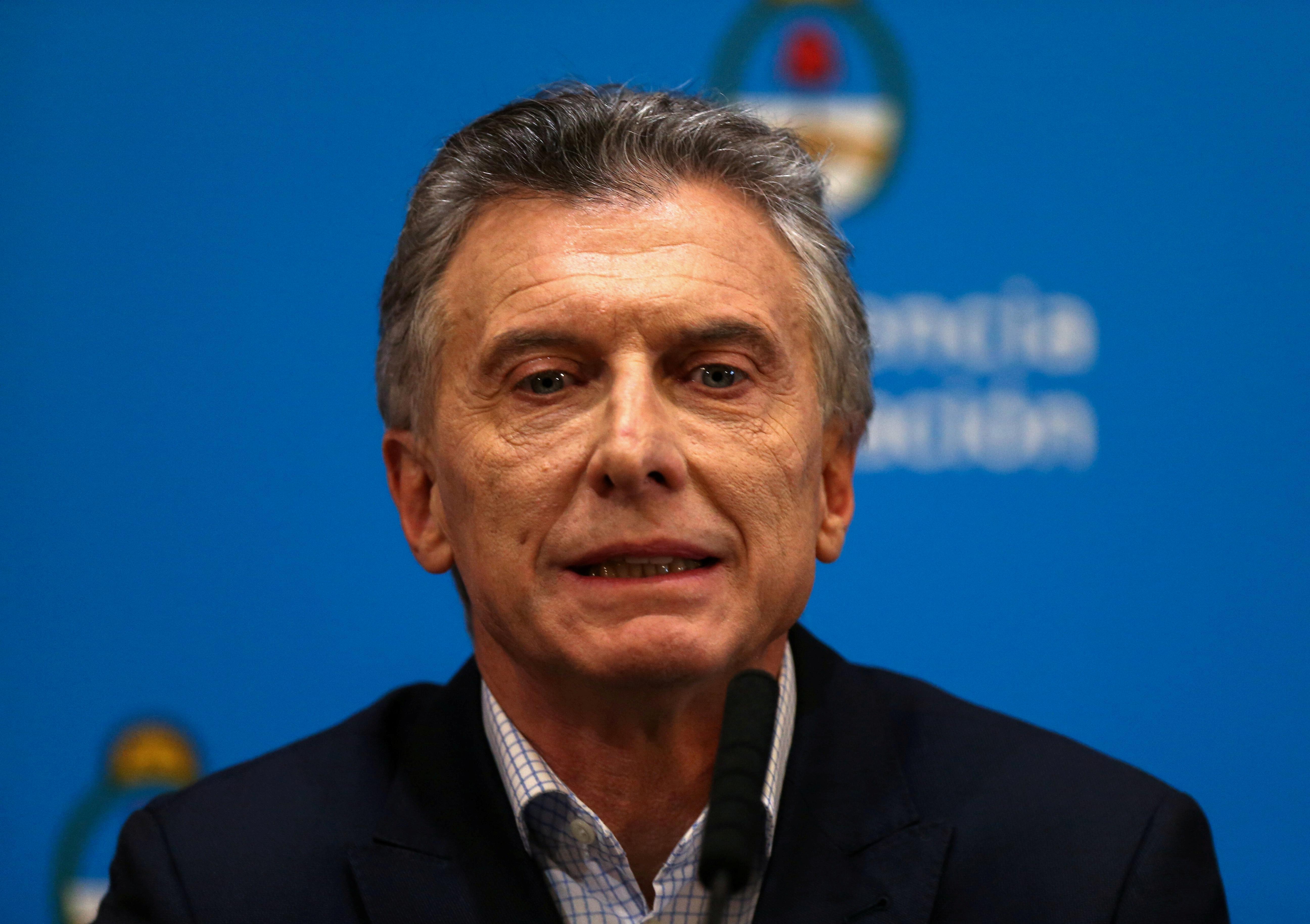 Argentina's Macri says IMF team coming next week