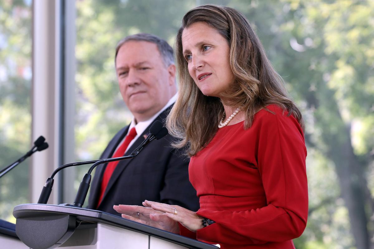 Kanada se Freeland om na Kuba terug te keer om die Venezolaanse krisis te bespreek