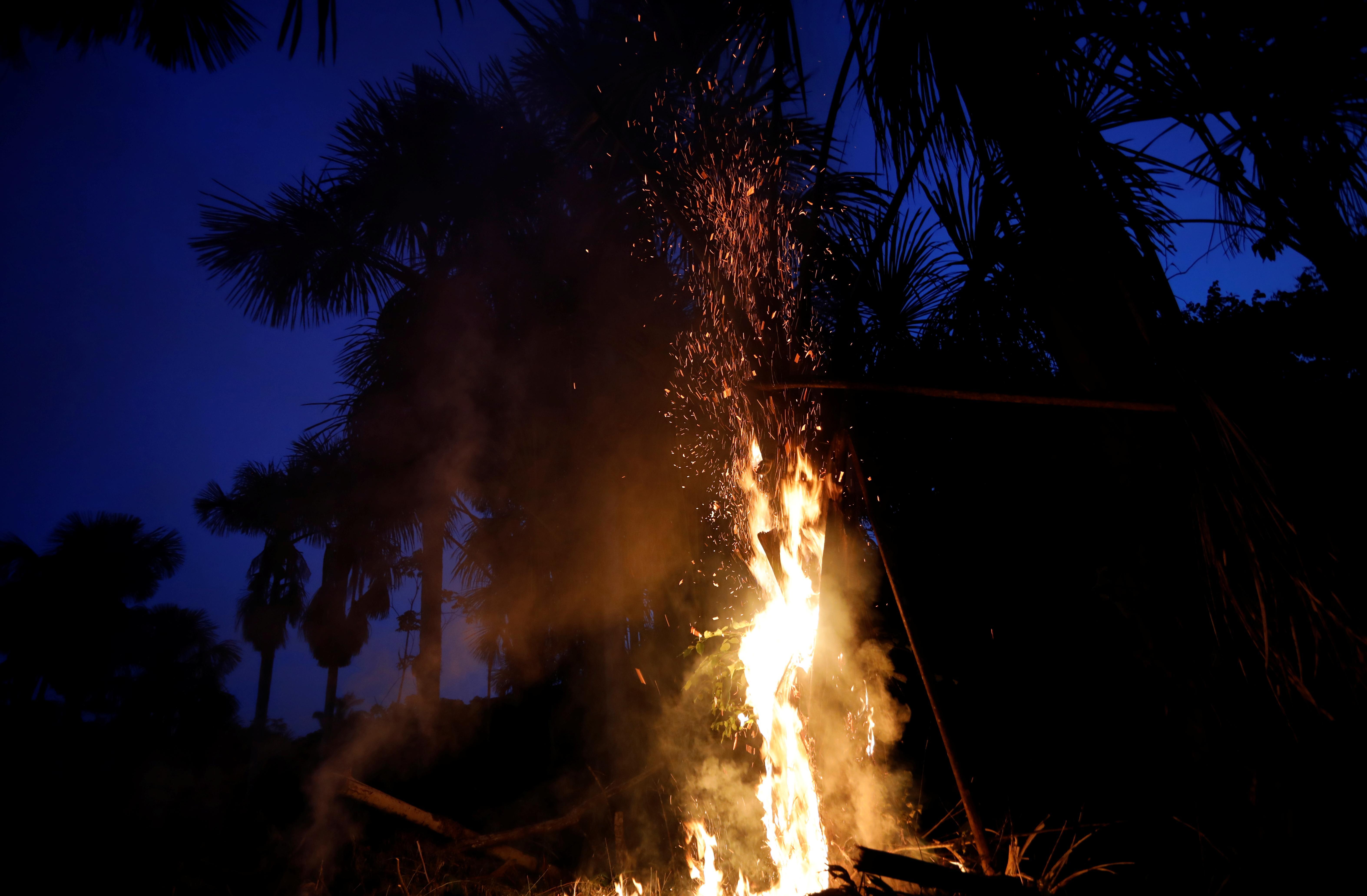 Brazil's Bolsonaro says army may help fight Amazon fires