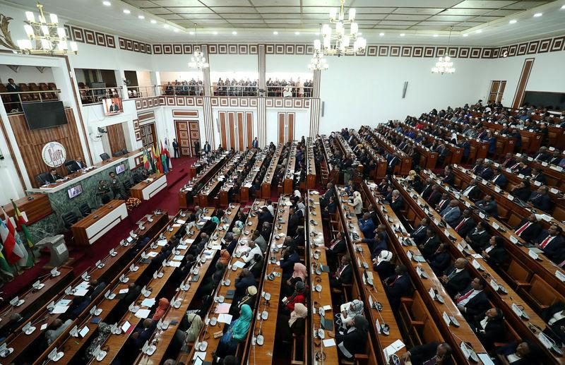 Ethiopia's parliament approves electoral, political parties draft...
