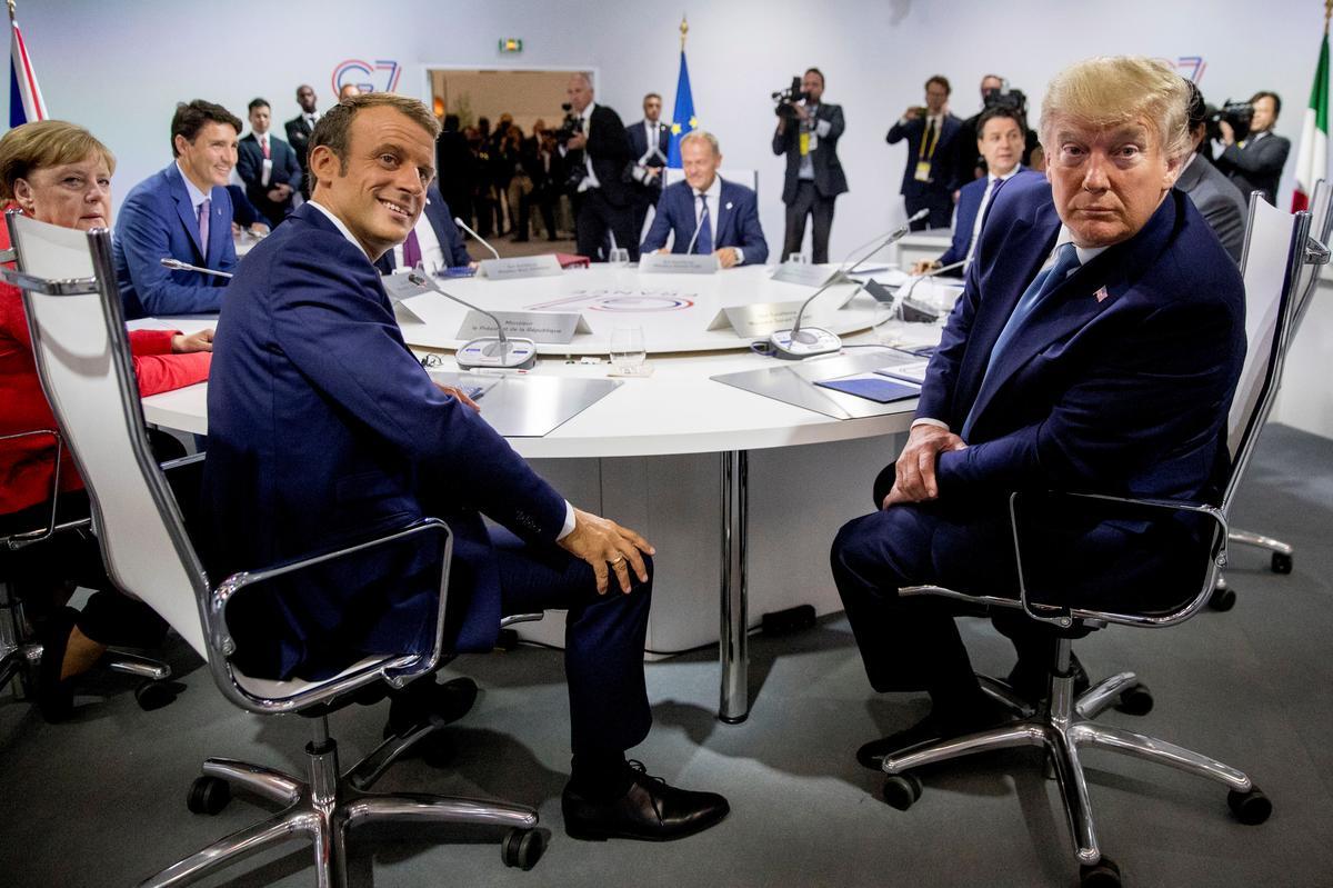 Trump demp Macron-optimisme oor Iran-gesprekke