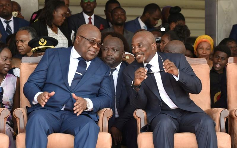 New Congo government shows influence of former president
