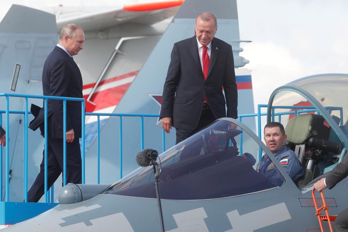 Rusland, Turkye stem saam oor stappe om militantes in Sirië se Idlib aan te pak: Poetin