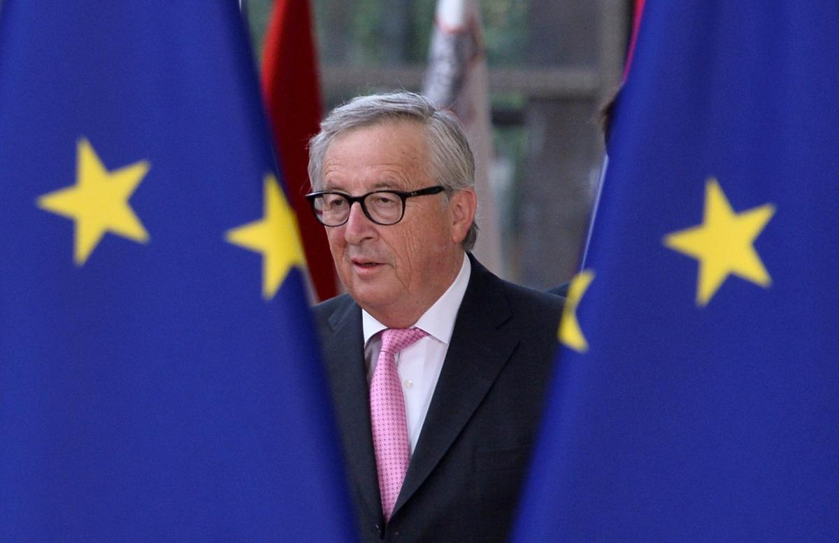 Juncker sê Johnson die steun van die EU vir Ierland is standvastig