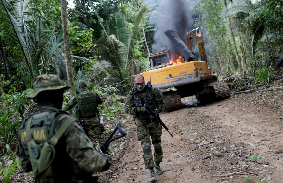Eksklusief: terwyl brande deur Amazon hardloop, verswak die Bolsonaro-omgewingagentskap in Brasilië