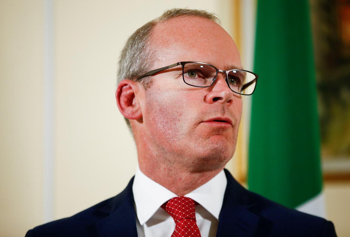 Brexit: Ierland sal nie die verwydering van die agterstewe ondersteun nie, sê Coveney