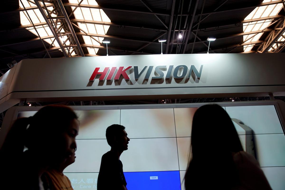 Hikvision, 'n toesighoudende kragstasie, is besig om die VS-China se strakheid te volg