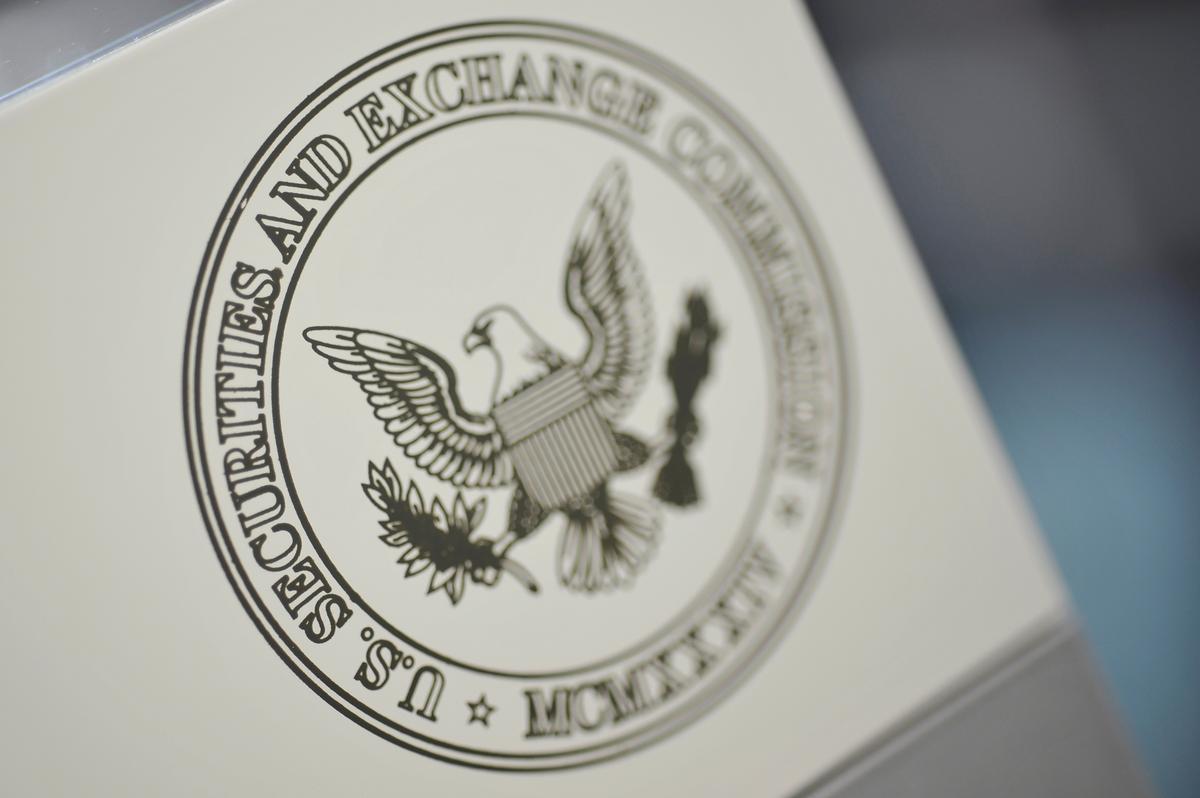 SEC beboet die firma in Texas vir die aanbieding van onwettige tekens, ongeregistreerde ruil
