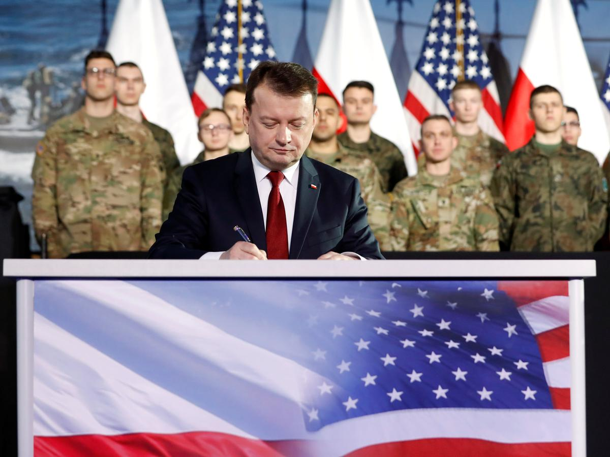 Warskou, Washington stem saam oor plekke vir nuwe Amerikaanse troepe in Pole: minister