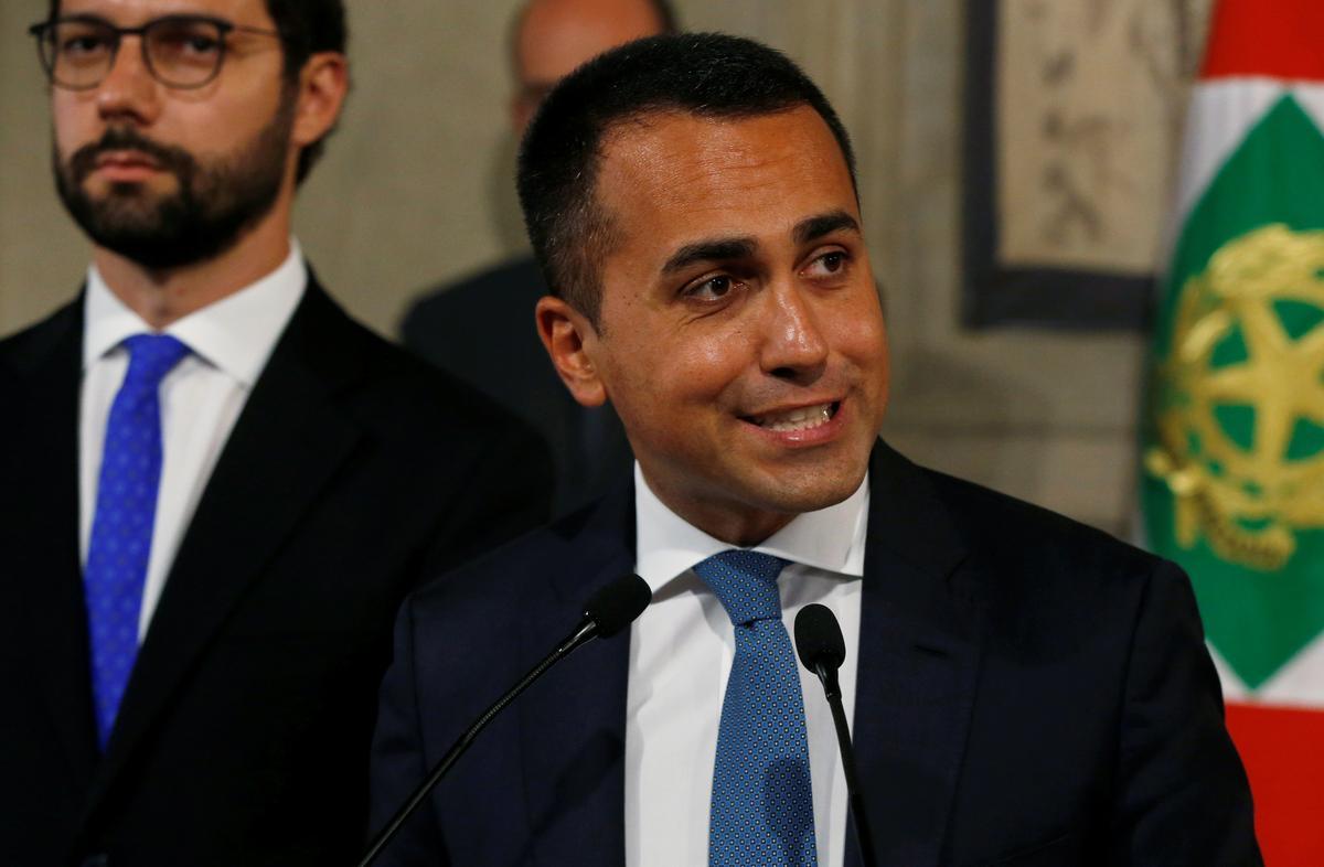 Italiaanse 5-ster-leier stel voorwaardes vir koalisie met PD voor