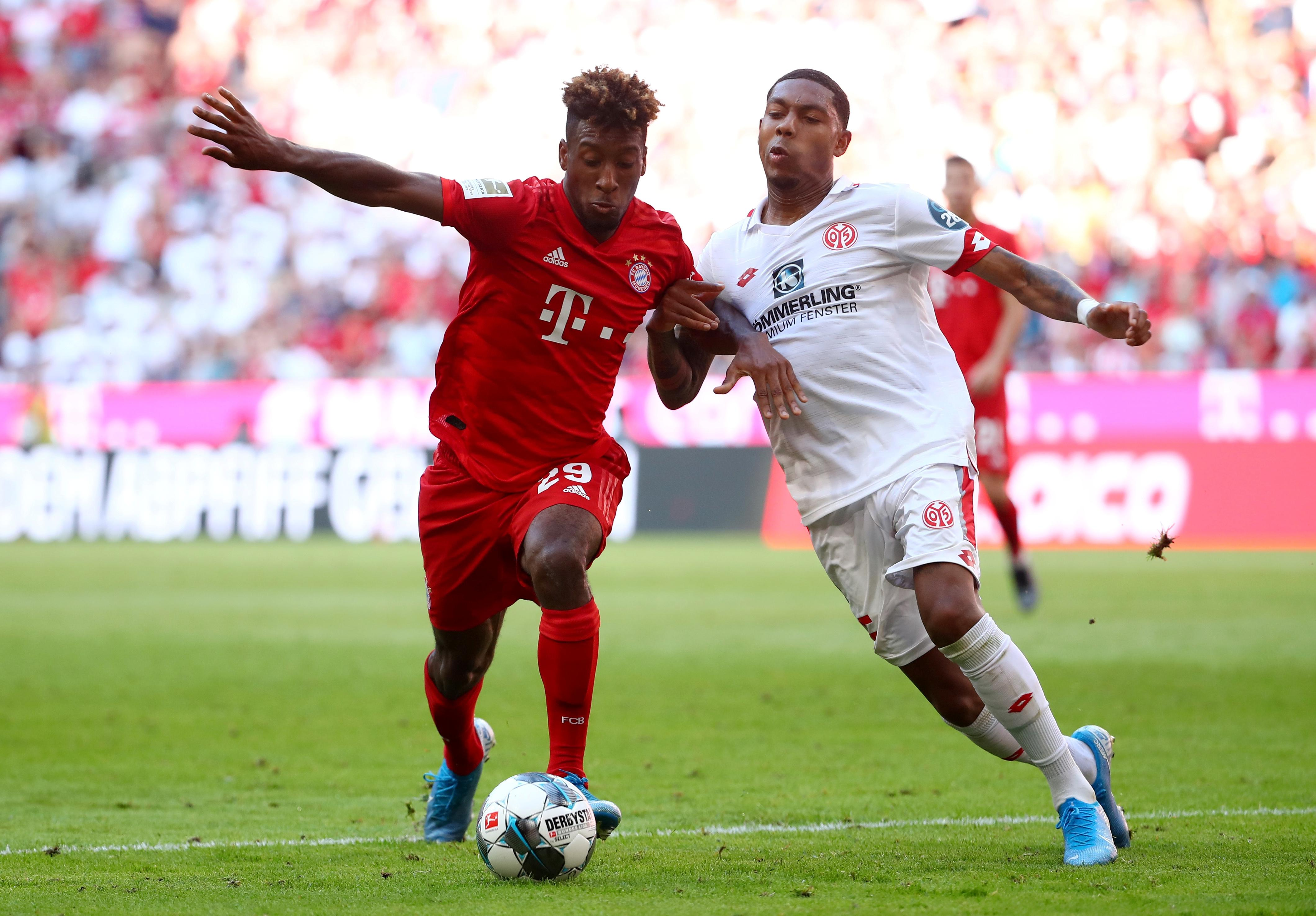 Bayern fire six past hapless Mainz for second win in a row