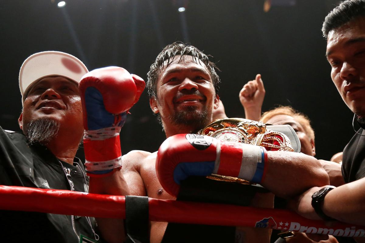 Boxing champ Pacquiao launches his own crypto tokens