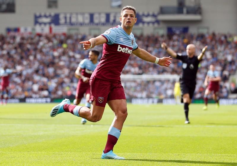 Image result for Sevilla sign striker Hernandez from West Ham on three-year deal