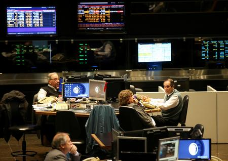 Stocks slip on tariffs, Argentina hit by capital controls