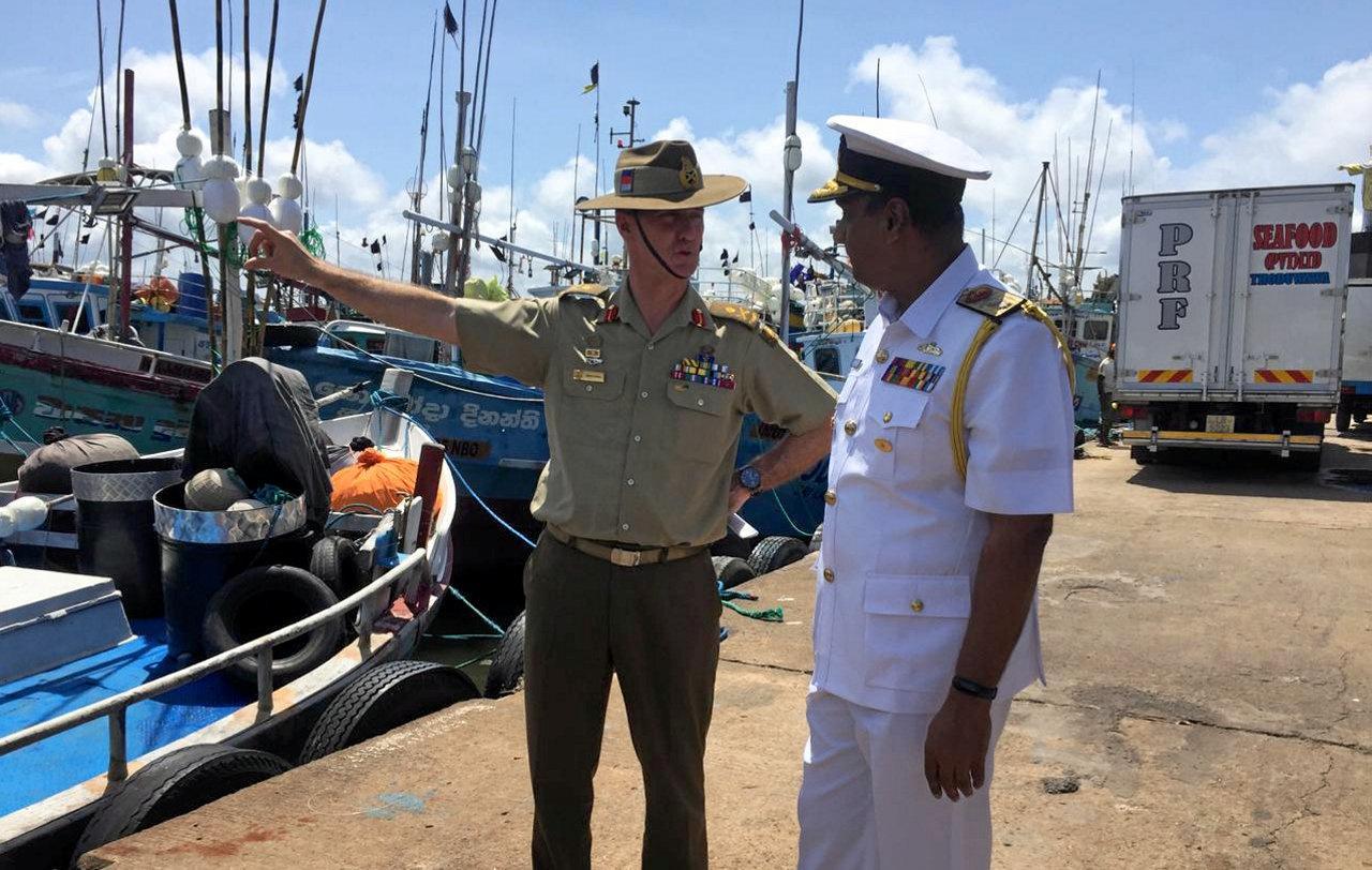 Australia says asylum seekers from Sri Lanka rising