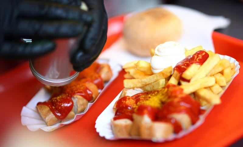Germany celebrates 70 years of saucy currywurst sausage