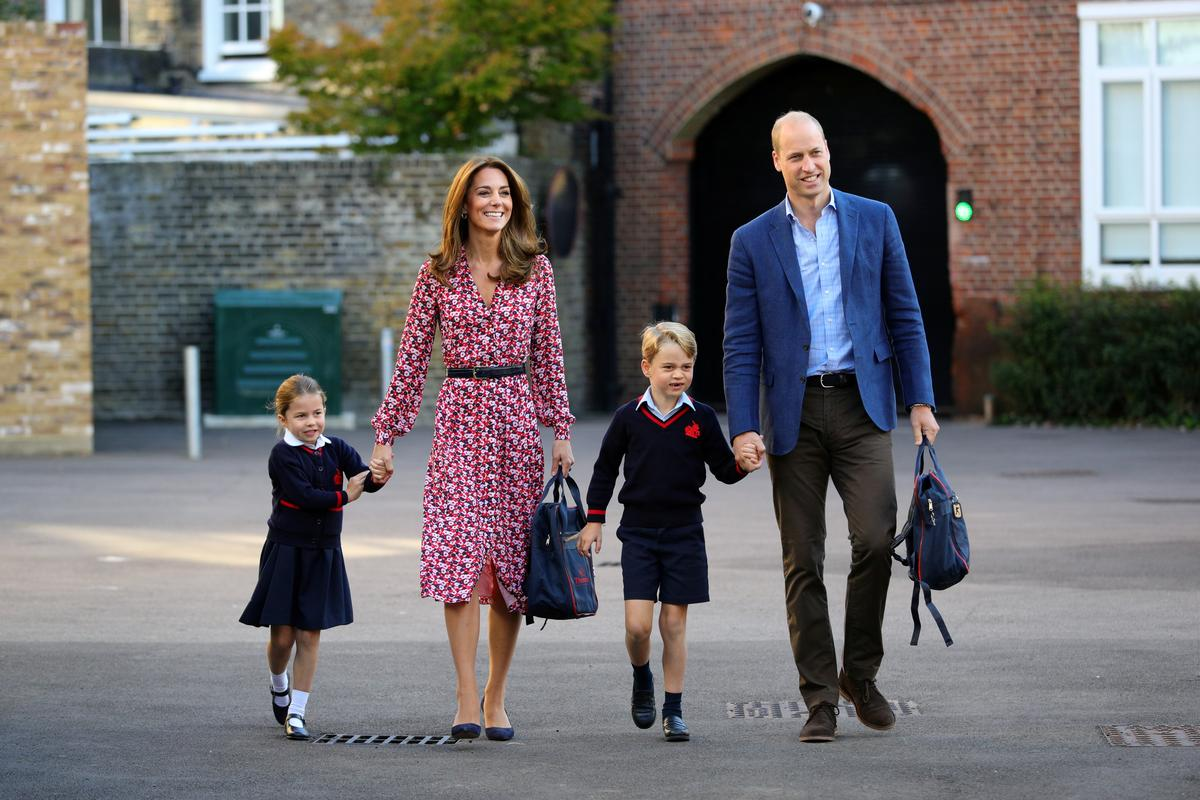 Princess Charlotte, 4, starts school