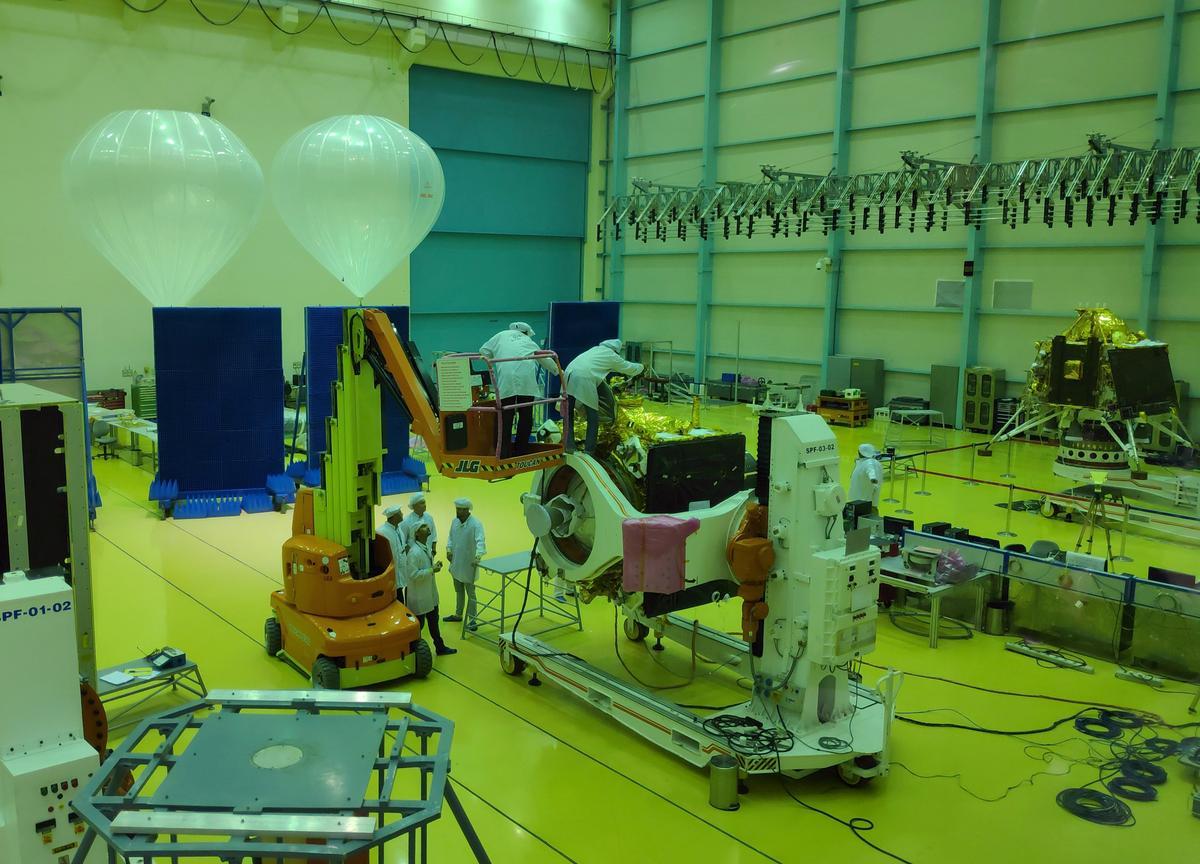 Indië verloor kontak met die maanmissie van Chandrayaan-2