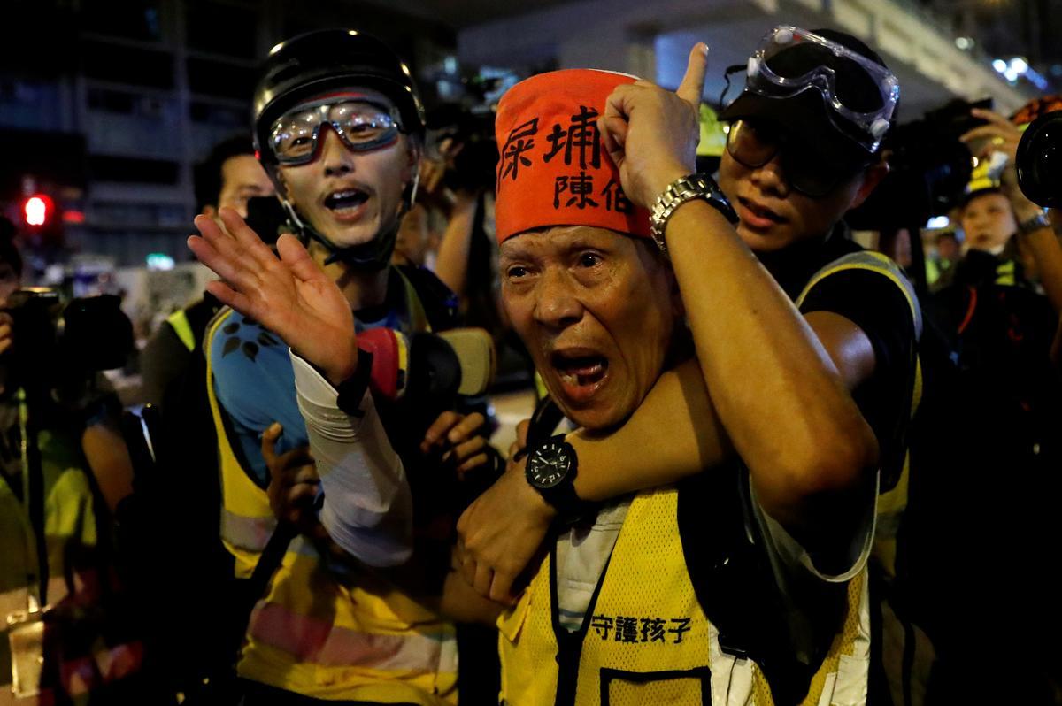 Betogers in Hongkong moet hul demokrasieboodskap na die Amerikaanse konsulaat neem