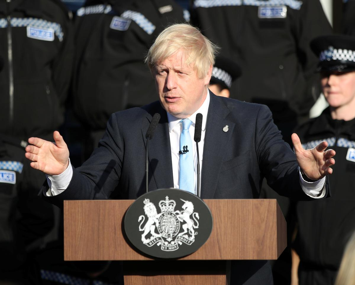 Die Britse Johnson bied weer 'n poging aan om die stembus te laat styg omdat Brexit-wetsontwerp vir vertraging opgestel word