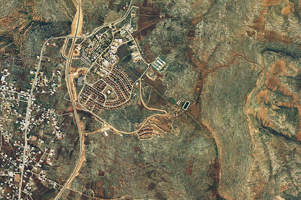 Wyer beeld: Israel se setlaars en die Palestyne waarin hulle woon