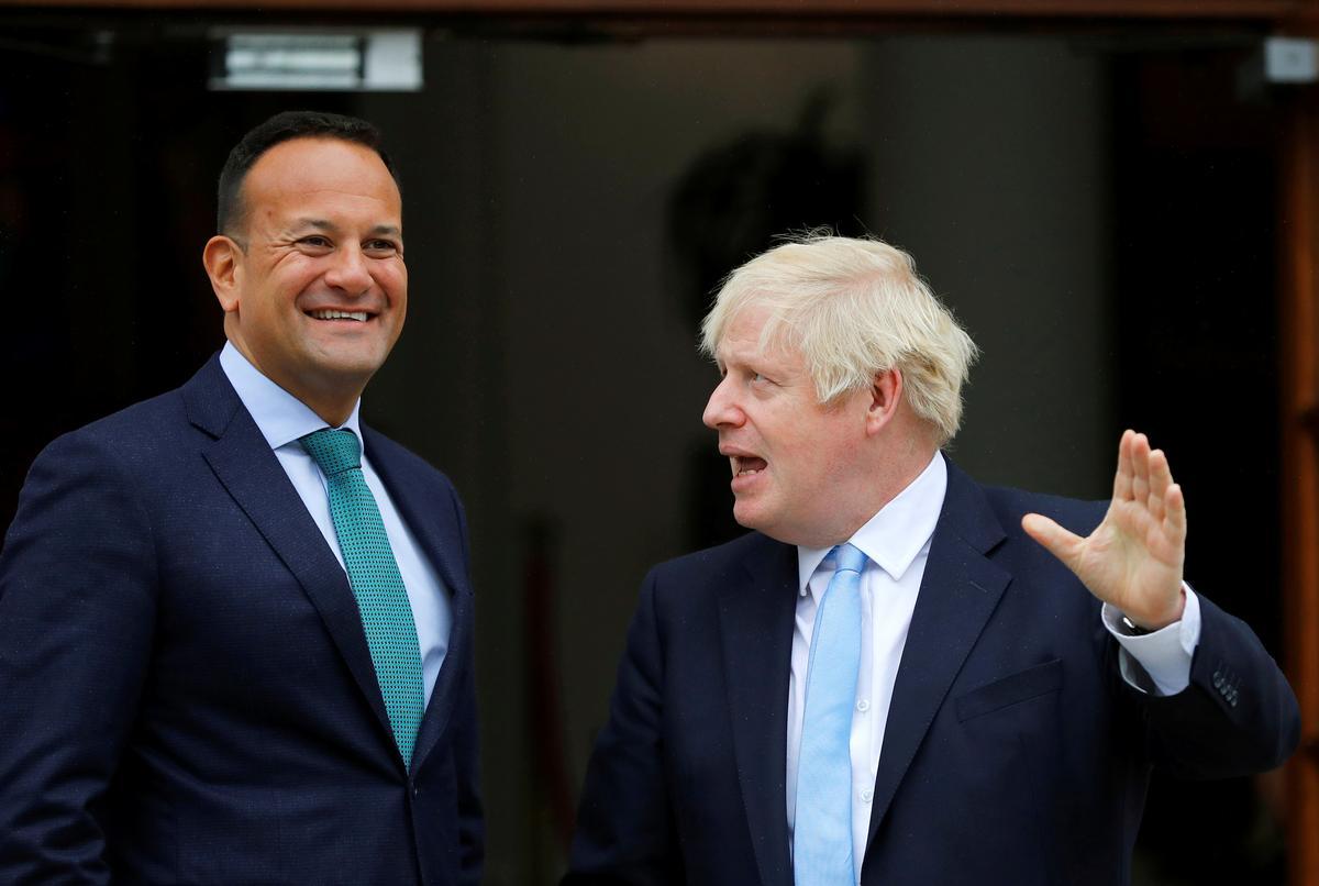 Die Ierse premier, Varadkar, sê: no-backstop is gelyk aan die Brexit wat geen transaksie het nie